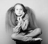 Menina da escola — Foto Stock