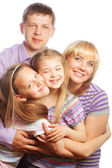 Happiness family — Stock Photo
