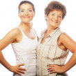 Portrait  mother and adult daughter — Stock Photo