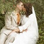Wedding couple outdoor — Stock Photo #29908691