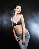 Striptease danser. — Stockfoto
