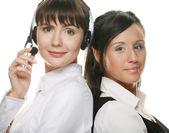 Portrait of two businesswomen — Stock Photo