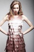Donna moda giovane — Foto Stock