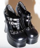 High heeled fetish shoes — Stock Photo