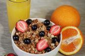 Buen desayunoiyi bir kahvaltı — Foto de Stock
