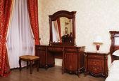 Hotel bedroom interior design. — Stock Photo
