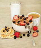 Frukost. — Stockfoto