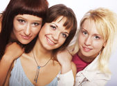 Meninas adolescentes felizes — Foto Stock