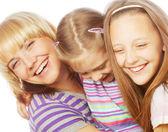 幸せな家族. — ストック写真