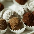 Stock Photo: Handmade chocolates