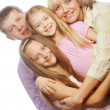 Happiness family — Stock Photo #39214475