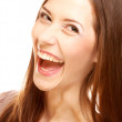 Laughing female. Close up. — Stock Photo #39530287