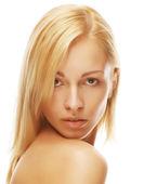 Beautiful female model — Stock Photo