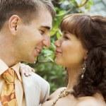 The walk of newlyweds — Stock Photo #40540209