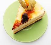 Pedaço de bolo — Fotografia Stock