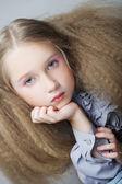 Scuola ragazza — Foto Stock