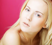 Attractive young woman — Stock Photo