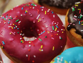 Colorful donuts — Stock Photo