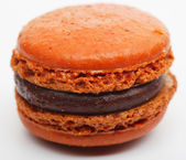 Orange French Macaroon — Foto de Stock