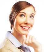 Portrait of young business woman — Stock Photo
