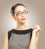 Portrait of young business woman — Foto de Stock