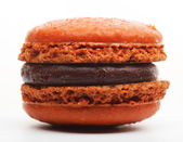 Orange French Macaroon — Stock Photo