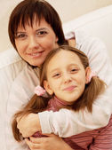 Mother and her daughter — Stock Photo