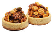 Little nuts tarts. — Stock Photo