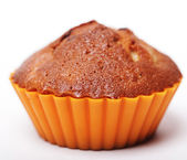 Muffin isolated on white — Stock Photo