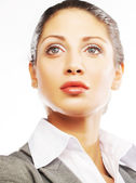 Business woman close up — Stock Photo