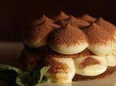 Italian dessert - tiramissu — Stock Photo
