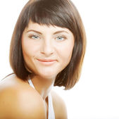 Beautiful woman with clean fresh skin — Stock Photo