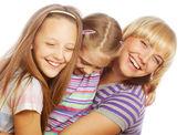 Lycklig familj. — Stockfoto