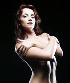 Mulher desportiva — Foto Stock