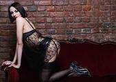 Güzel seksi kız — Stok fotoğraf