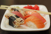 Sushi seti — Stok fotoğraf