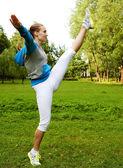 Conceito de esporte e estilo de vida. — Foto Stock