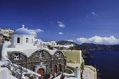 Scene in Santorini island, Greece — Stock Photo
