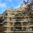 Casa Mila (La Pedrera) in Barcelona, Spain. — Foto Stock