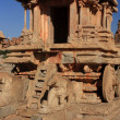 Stone Chariot at Vitthala Temple in Hampi, India. — Stock Photo #18691505