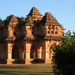 Lotus Mahal in Hampi, India. - Stock Photo