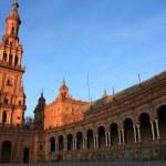 Plaza de Espana in Seville, Spain. — Stock Photo