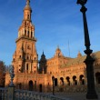 Plaza de Espana in Seville, Spain. — Stock Photo #18714611