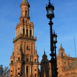 Plaza de Espana in Seville, Spain. — Stock Photo