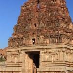 Vittala (Vitthala) Temple in Hampi, Karnataka state, India. — Stock Photo