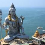 Lord Shiva Statue in Murudeshwar, Karnataka, India. — Stock Photo