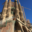 Sagrada Familia in Barcelona, Spain. — Stock Photo