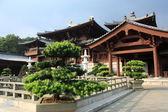 Chi lin templo budista, hong kong. — Foto de Stock