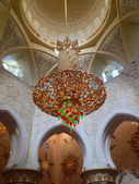 Sheikh Zayed Mosque in Abu Dhabi — Stock fotografie