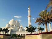 Sheikh Zayed Mosque in Abu Dhabi — Stock Photo